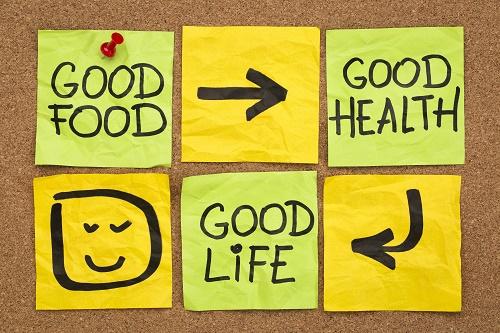 Good food equals good health