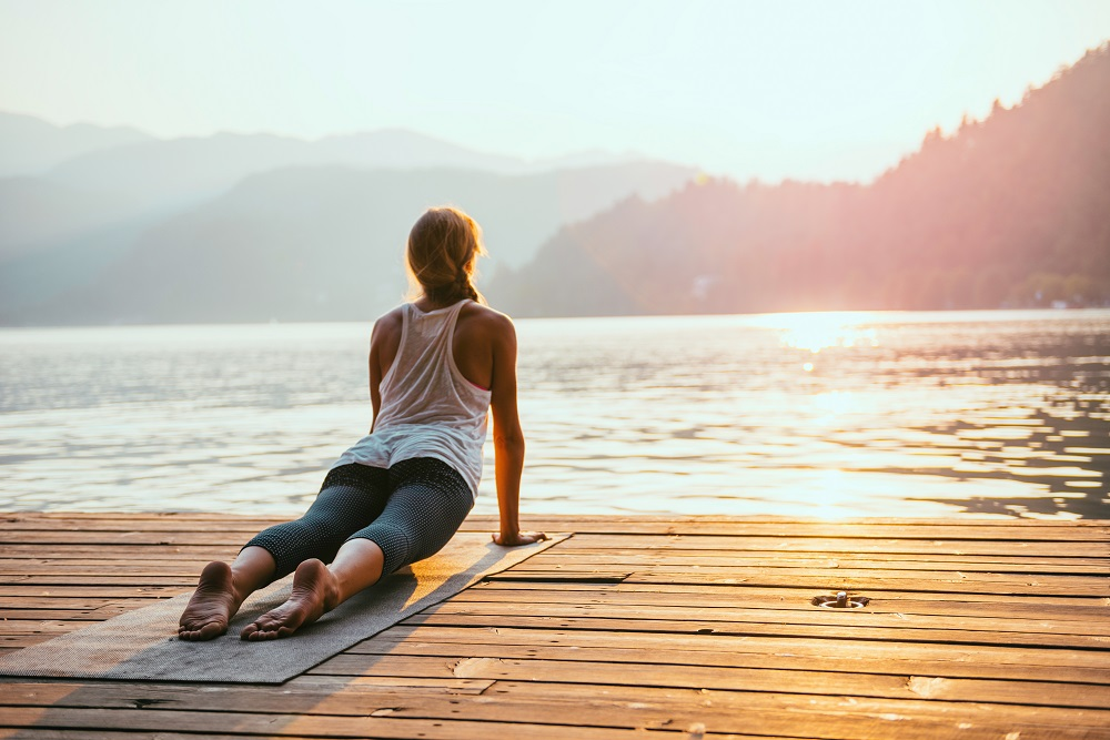 Have you tried yoga? It can have a profound impact on your health